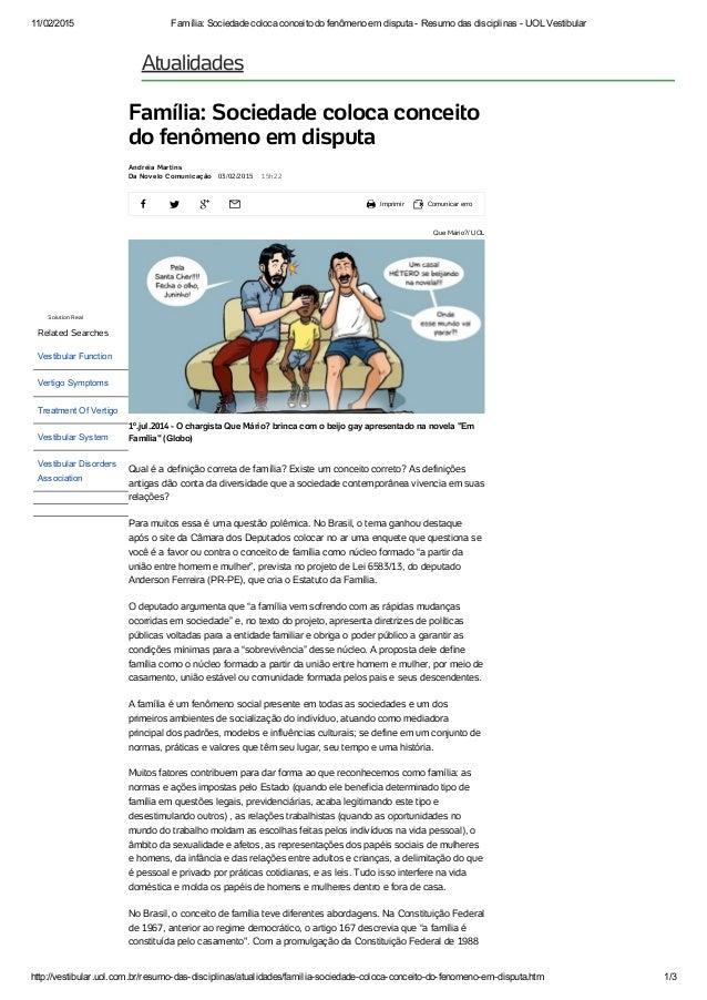 11/02/2015 Família:SociedadecolocaconceitodofenômenoemdisputaResumodasdisciplinasUOLVestibular http://vest...