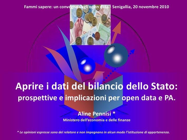 Fammi sapere: un convegno sugli open data - Senigallia, 20 novembre 2010                                          LOGOApri...
