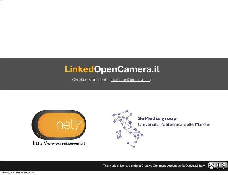 LinkedOpenCamera.it                                       Christian Morbidoni - morbidoni@netseven.it>                    ...