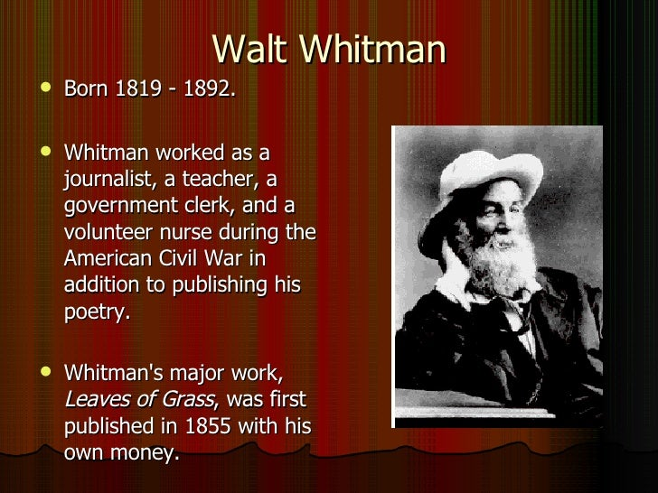"the themes of life in walt whitmans literary works 274 quotes from leaves of grass:  and of every moment of your life"" ― walt whitman  thee fully forth emerging, silent, gazing, pondering the themes thou."