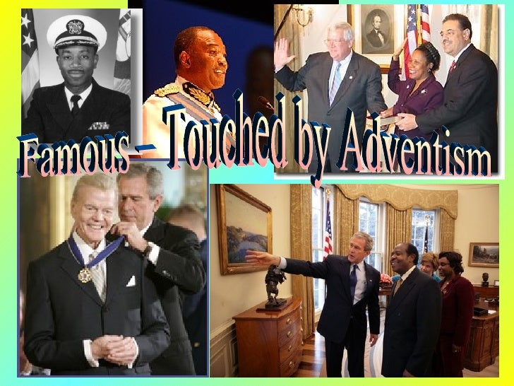 Famous – Touched by Adventism