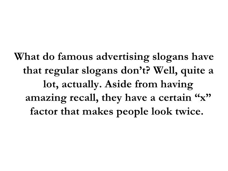 Famous Advertising Slogans: Why These 5 Advertising Slogans Work Like…