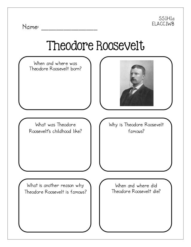 Who Was Theodore Roosevelt? PDF Free Download
