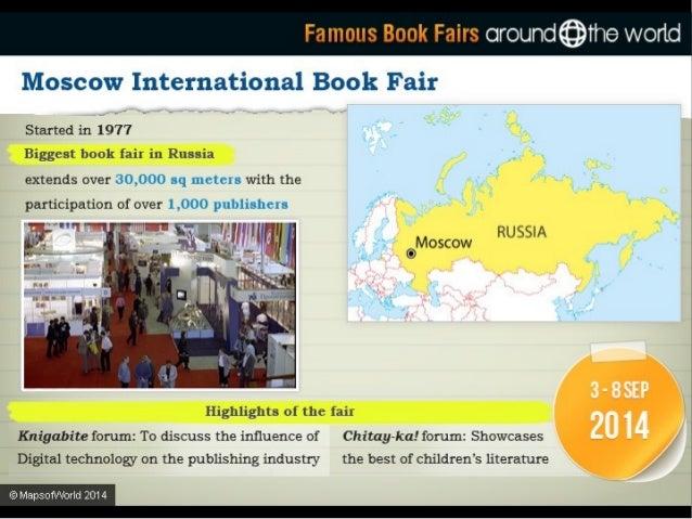 Famnus Rnnk Fairs:  oround@The wortd     Frankfurt Book Fair :  ~  . .  World's largest and most important book fair  V GE...