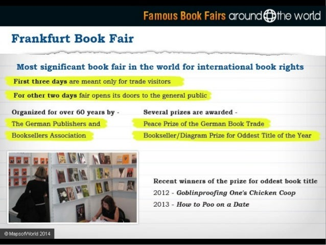 Famous Book Fairs ciround©ihe wortd  Guadalajara International Book Fair  Started in 1987 4 J *' by the University of Guad...