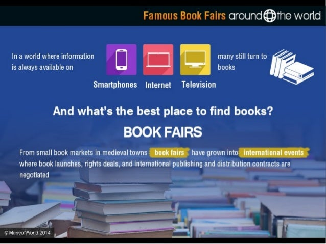 Famous Book Fairs Around The World Slide 2