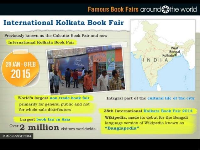 Famous Book Fairs oround@rhe world  New Delhi World Book Fair     Oldest book fair in India  First held in 1972 thew Dem, ...