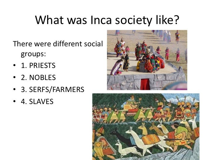 inca social structure in english - photo #30