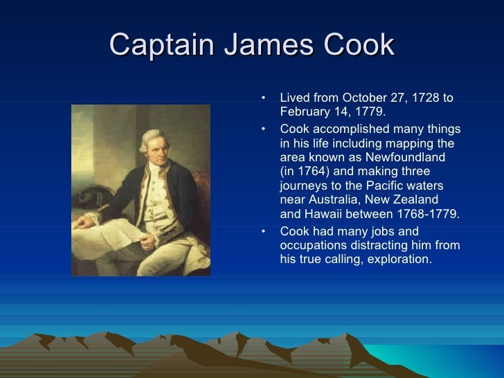 the life and explorations of james cook Download the app and start listening to the explorations of captain james cook today - free with a 30 day trial keep your of new zealand this audio edition includes the full text of john lang's biography, plus additional material from captain cook's journals, giving a unique personal perspective on the narrative.