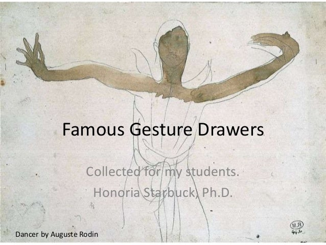 Famous Gesture Drawing Artists - Gesture in context