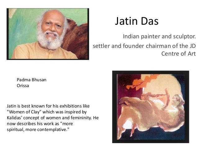 Famous indian artists and their paintings pptx