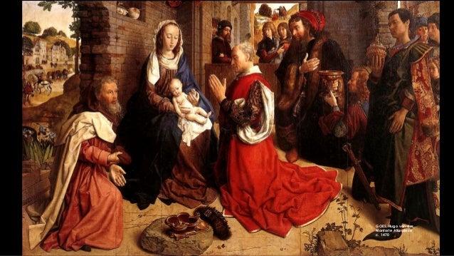 GOES, Hugo van der Monforte Altarpiece c. 1470