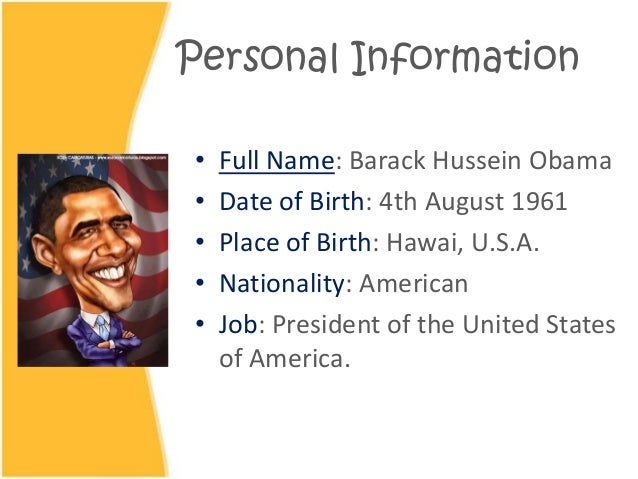 Barack obama date of birth in Melbourne