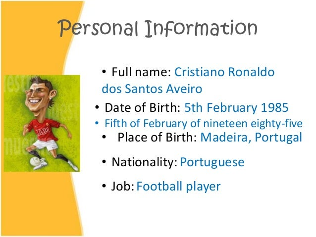 famous people information