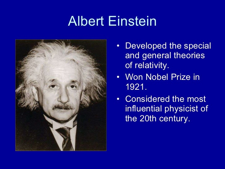 biography of albert einstein the visionary physicist of the 20th century Albert einstein was a theoretical physicist and one of the geniuses of 20th century physics his work has helped along our understanding of the universe.