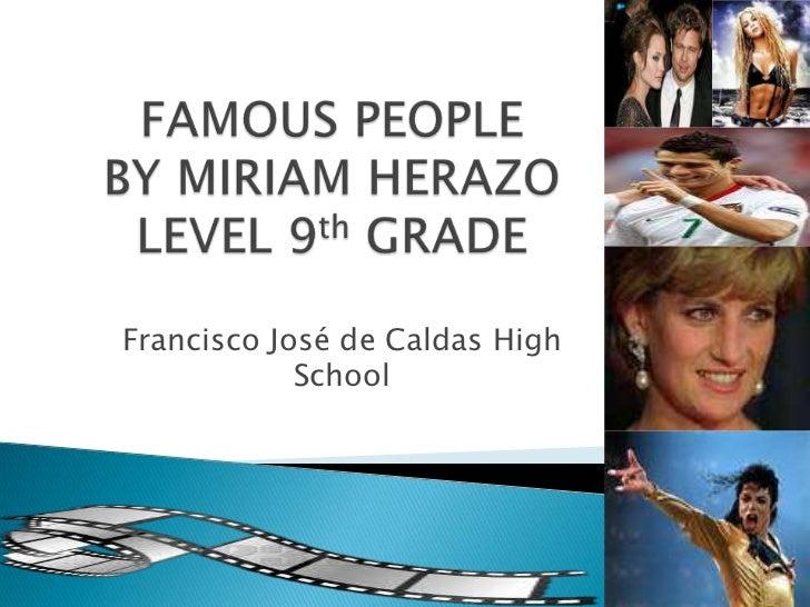 Francisco José de Caldas High            School