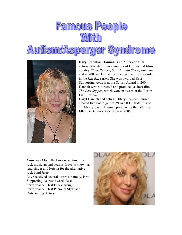 Famous People With Asperger's Syndrome | Betterhelp