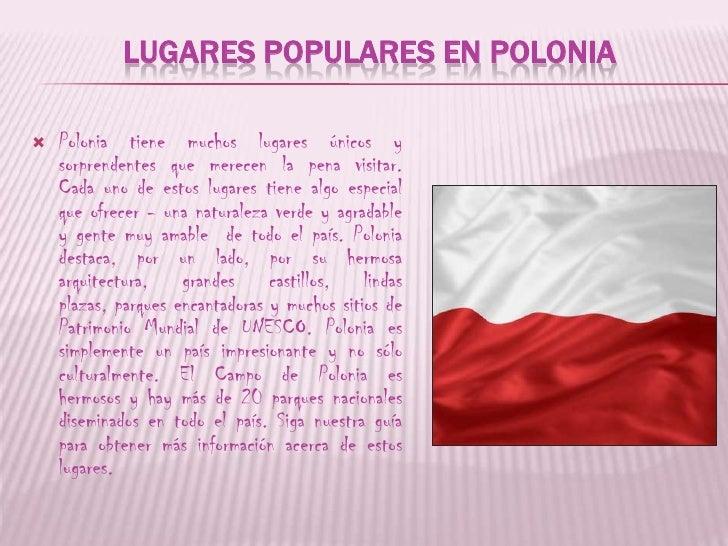 lugares de Polonia