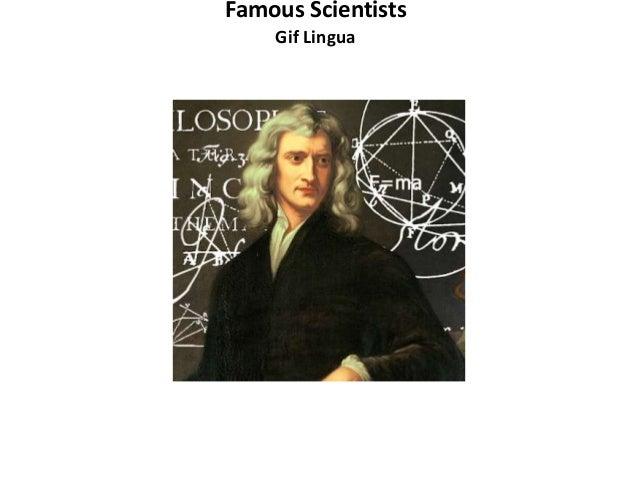 Famous Scientists Gif Lingua