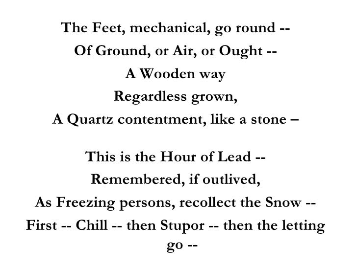 Similie In Poems 3