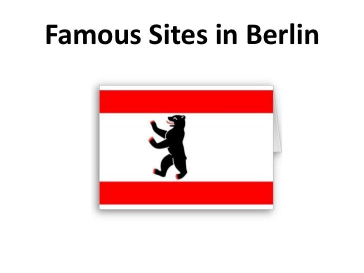 Famous Sites in Berlin