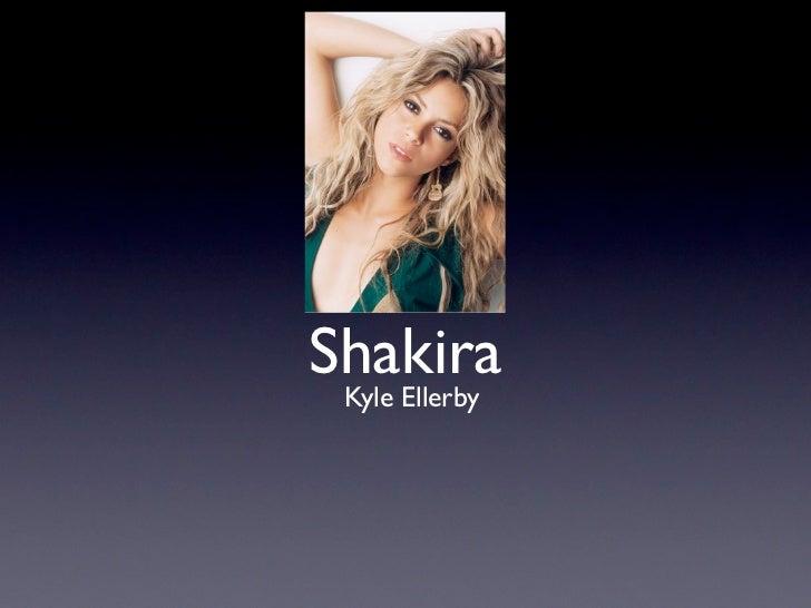 Shakira Kyle Ellerby