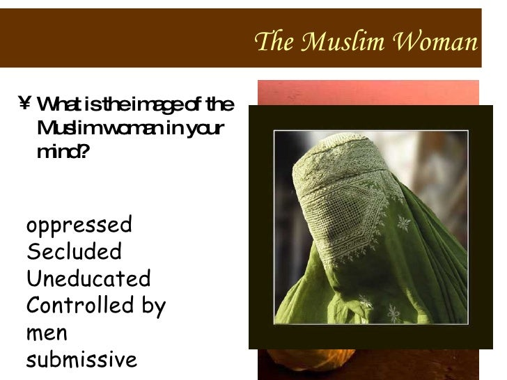 """an introduction to the issue of oppression of women in islam Said, their muslim identities often subject them to common  whether the  pejorative """"veil"""" serves to oppress women by controlling their  introduction  whether."""