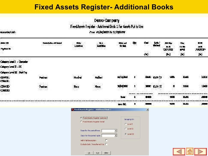 fixed assets register - photo #38