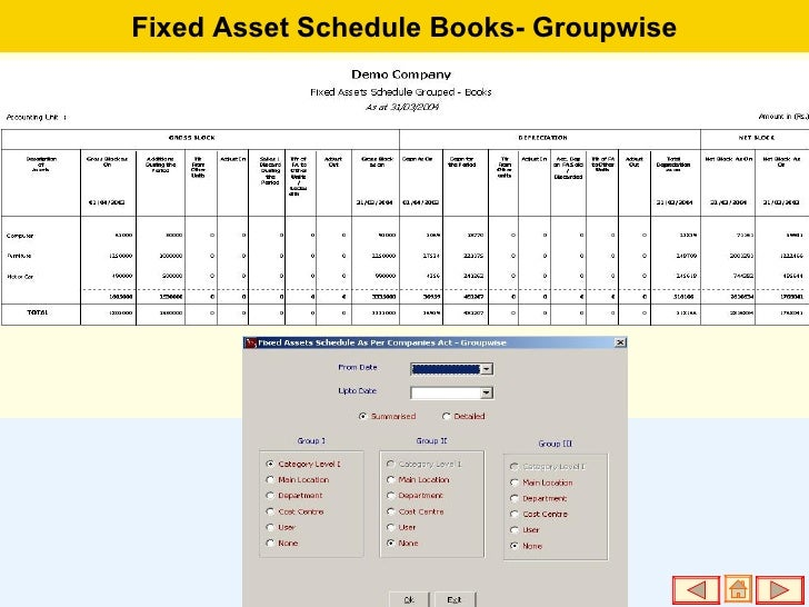 Fixed Assets Management Software