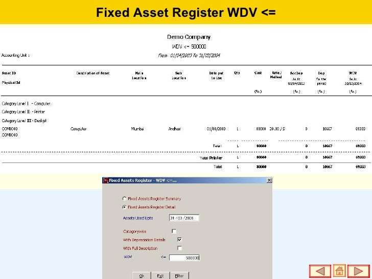 fixed assets register - photo #32