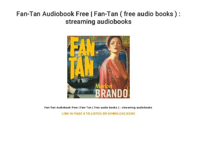 Fan-Tan Audiobook Free | Fan-Tan ( free audio books