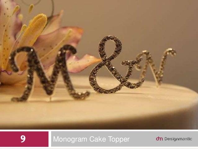 Monogram Cake Topper9