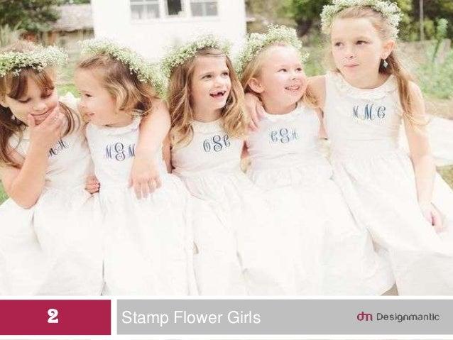 Stamp Flower Girls2