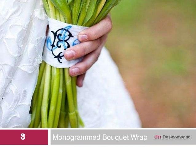 Monogrammed Bouquet Wrap3