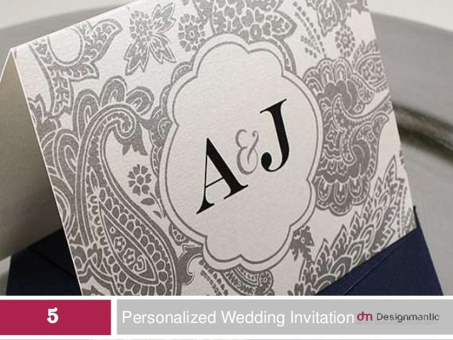 Personalized Wedding Invitation5