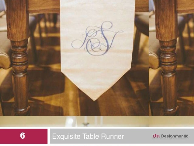 Exquisite Table Runner6