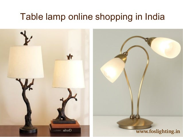 Buy online fancy lighting accessories in india table lamp online shopping in india foslighting mozeypictures Gallery