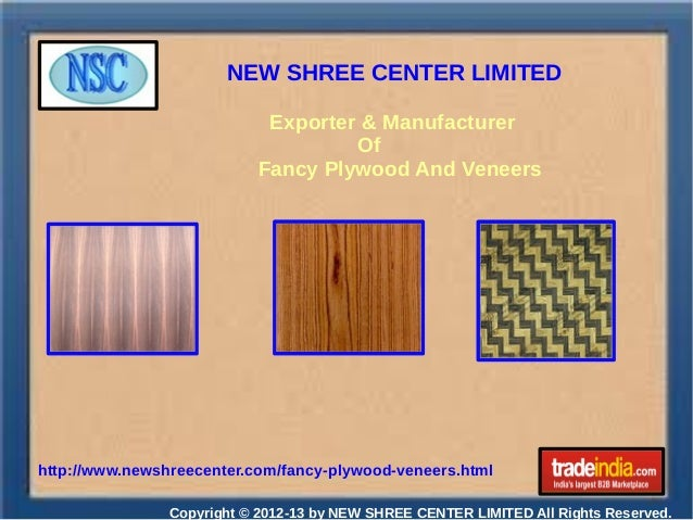 NEW SHREE CENTER LIMITED Copyright © 2012-13 by NEW SHREE CENTER LIMITED All Rights Reserved. http://www.newshreecenter.co...