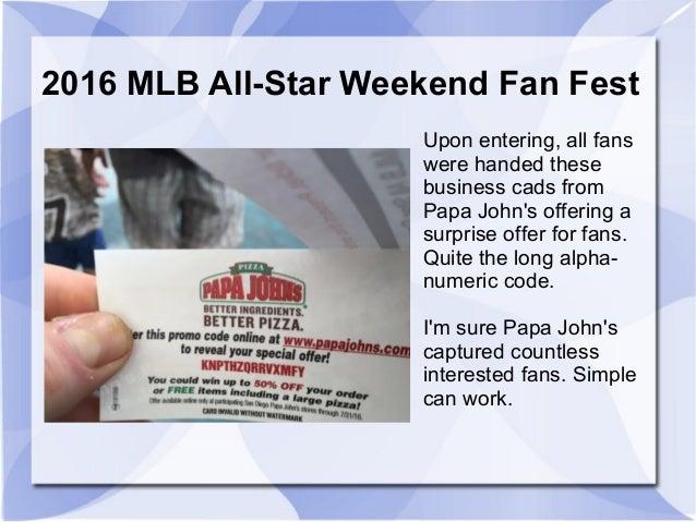 f0dd7582a58 A Sports Biz Look at the 2016 MLB All-Star Weekend Fan Fest