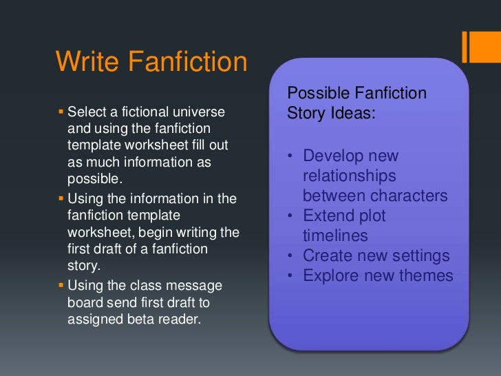 A guide to fanfiction for people who can't stop getting it wrong