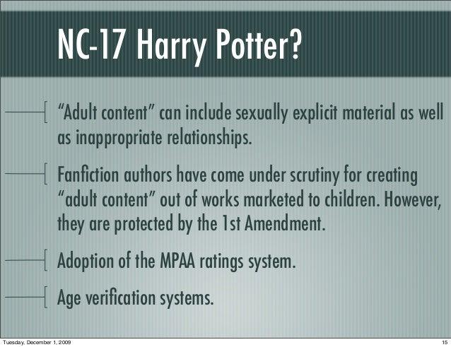 Harry potter adult fanfiction