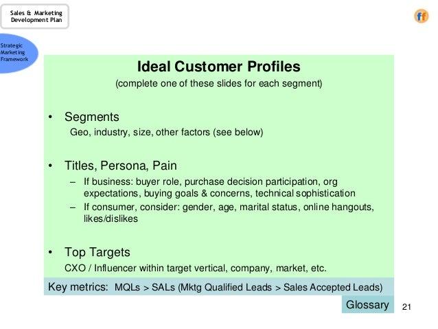 sales customer profile template - Leon.escapers.co