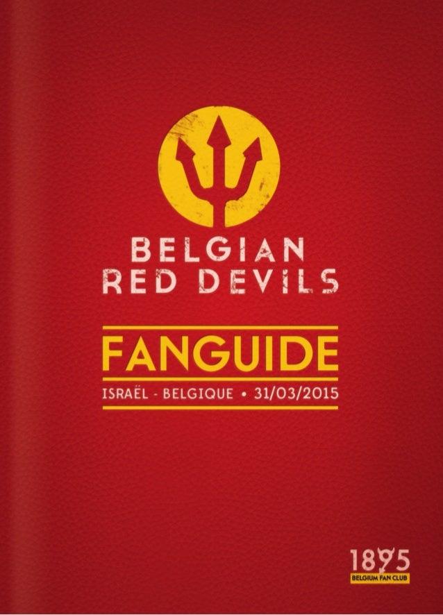 3 Voorvertrek Chers supporters, Le dernier match de nos Diables Rouges remonte à quelques mois déjà. En fin de ce mois, il...