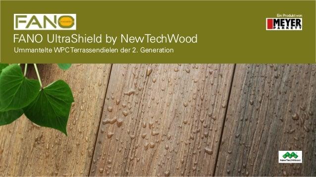 FANO UltraShield by NewTechWood Ein Produkt von Ummantelte WPC Terrassendielen der 2. Generation