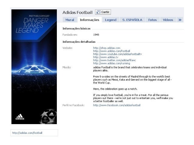 hltlfp1H-adlliiis. Iiiiirii, I'i>: II: rlCl: Iv3ll     Adidas Football _; fB_Curtir  Mural Inforn1aI_; :6es Legend S.  ESP...