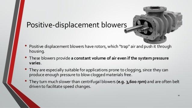 Positive Displacement Blower : Fans blowers