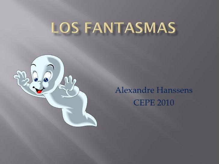 Alexandre Hanssens CEPE 2010