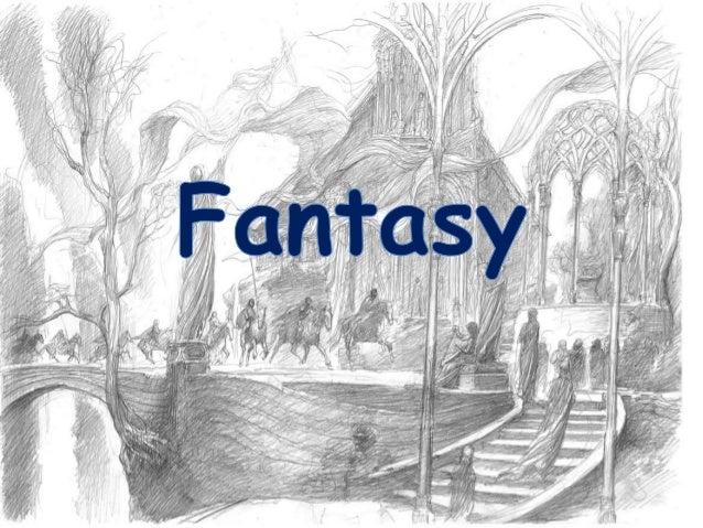 • Kalles også fantastisk litteratur. • Foregår helt eller delvis i en oppdiktet verden. • Bruk av magi og magiske gjenstan...