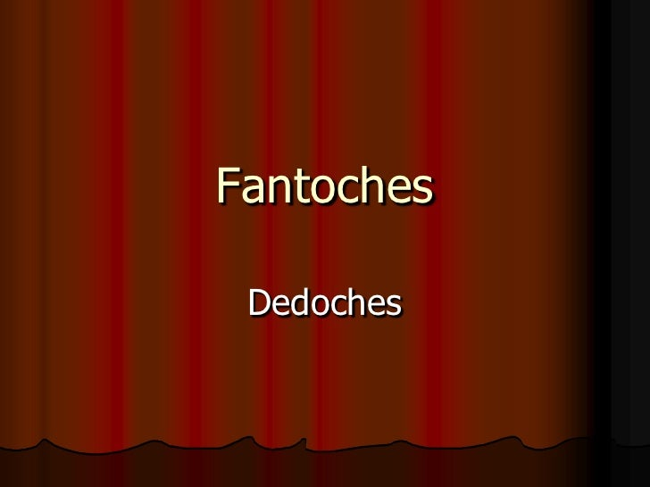 Fantoches Dedoches
