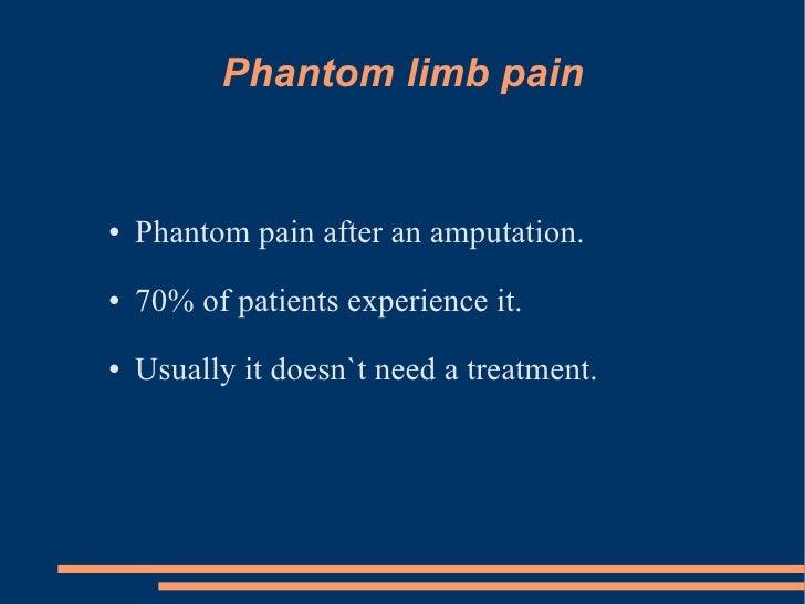 What Is Phantom Limb Pain?